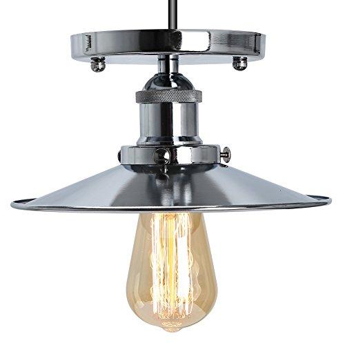 Fuloon E27 Deckenleuchte Industrielampe Retro Deckenlampe für Balkon ...