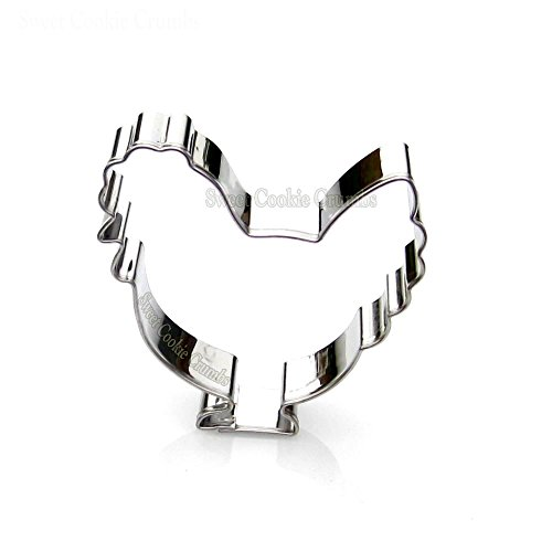 (Chicken Cookie Cutter- Stainless Steel)