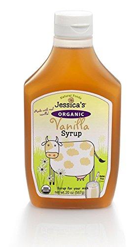 Jessica's Natural Foods Organic Vanilla Syrup 20 oz (Gluten Free Organic Corn Syrup)