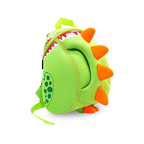Price comparison product image Coavas Kids Backpack Toddler Backpacks Dinosaur Backpack Children Backpack - Funny Dinosaur Cute Green(11.89.35.5 inch) - Gift For Toddlers and Children 1-6 years old Girls
