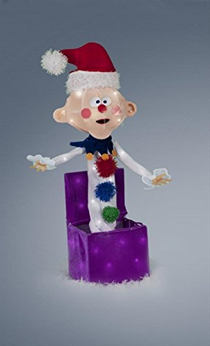 Charlie in the Box Rudolph the Red Nosed Reindeer Misfit Toys Tinsel Yard Art