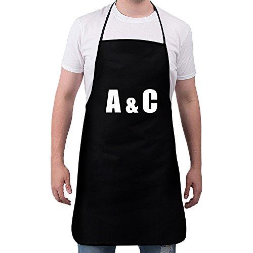 (Feddiy Aprons for Women Men Girls - Custom Cooking Waist Chef BBQ Adjustable Waterproof Apron (Logo))