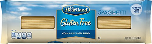Heartland Gluten Free Spaghetti Pasta, 12 Ounce -- 20 per case. by HEARTLAND