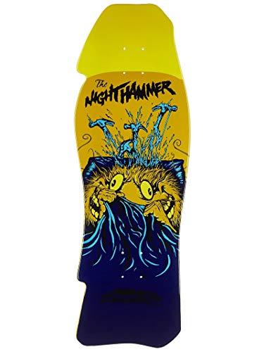 (Anti-Hero Grimple Stix Night Hammer Right Skateboard Deck - 10.25