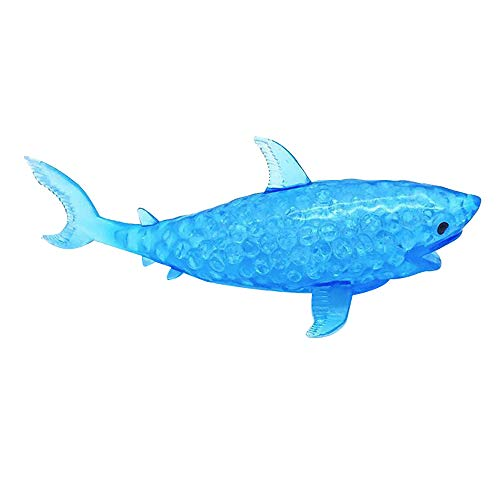 Spongy Shark Bead Stress Ball Toy Squeezable Squishies Toy Stress Relief Toy