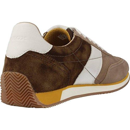 Calzado deportivo para hombre, color Hueso , marca GEOX, modelo Calzado Deportivo Para Hombre GEOX U VINTO Hueso Hueso
