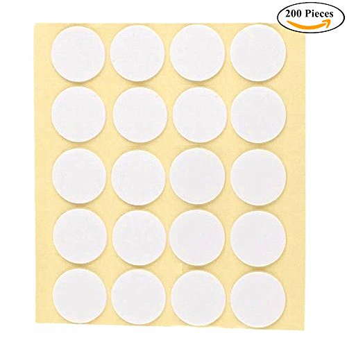 20 Mm Wick (Joyingle Wick Stickers Candle 20mm , Made of Heat Resistance Glue Adhere Steady in Hot Wax For Candle Making 200pcs)