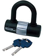 Oxford Unisex's HD Mini Shackle Lock, Black, One Size