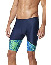 Speedo Men's Swimsuit Jammer ProLT Printed Team Colors