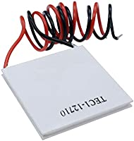 Aideepen 5PCS TEC1-12703 TEC Thermoelectric Heatsink Cooler Cooling Peltier Plate Module 40x40mm