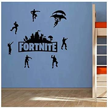 Diy Black Fortnite Wall Stickers Self Adhesive Bedroom Living Room Decor Wallpaper Game Fortnite Wall Decal Buy Online At Best Price In Ksa Souq Is Now Amazon Sa