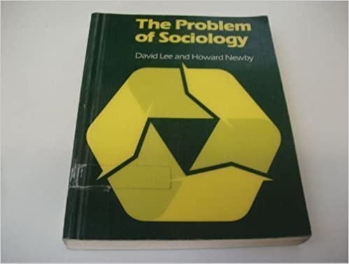 Book Problem of Sociology: An Introduction to the Discipline (1984-03-03)