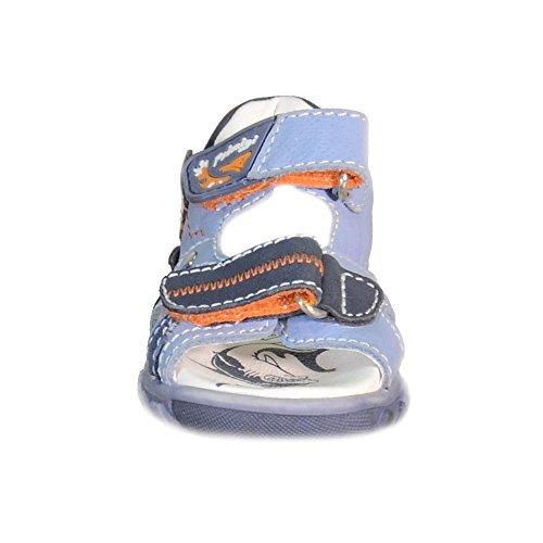 Primigi - Primigi Sandalias Niño Azul Claro Cuero Velcro 81183 - Azul, 20