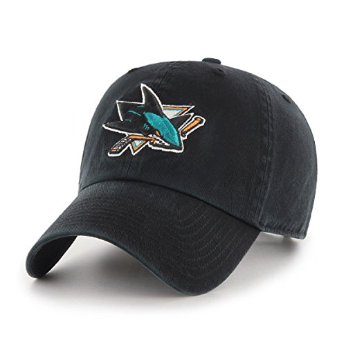 NHL San Jose Sharks Women's OTS Challenger Adjustable Hat, Black