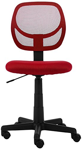 Amazonbasics Low Back Computer Chair Red Buy Online In