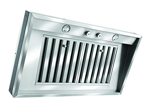 Vent-A-Hood M Series Wall Mount Insert Liner, M28SLD SS/28-3/8