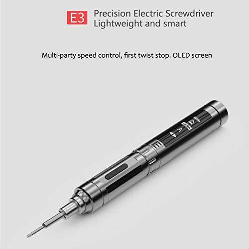 Guanyunxiu Destornillador eléctrico E3 Batería de litio ...