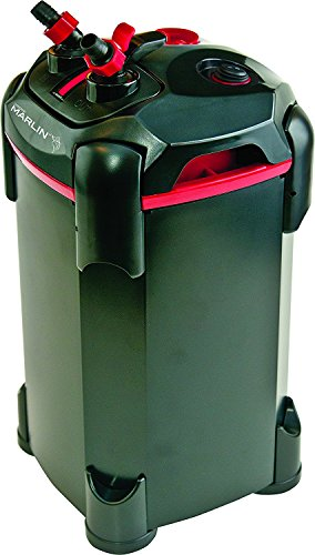 Penn Plax Cascade Marlin Canister Filter (Up to 80 Gallons with - Uv With Filter Cannister Light