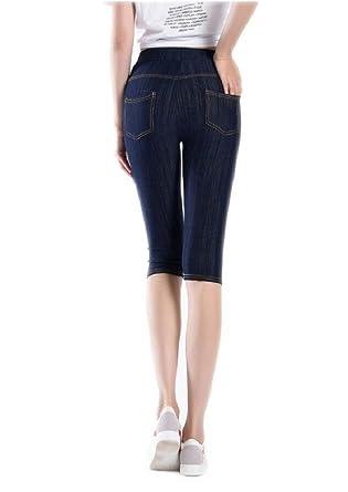Leggings De Mujer Cintura Alta Pantalones Elásticos Moda De ...