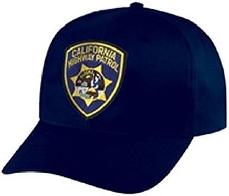 Chp – California Highway Patrol Cap/gorro – azul marino, ajustable – Policía parche, prisión, prisión, correcciones – se vende por uniforme mundo: Amazon.es: Juguetes y juegos