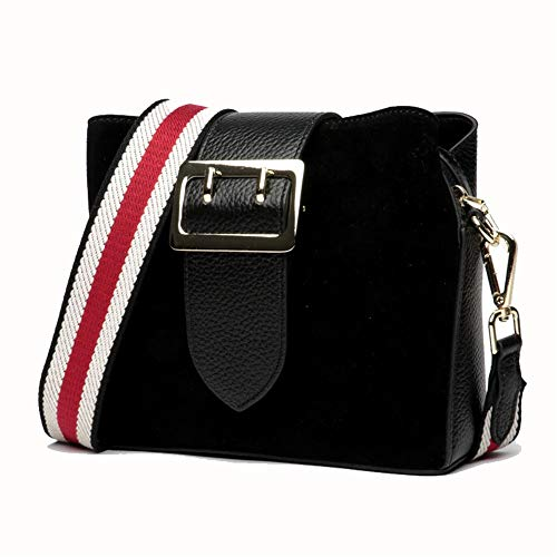 Messenger Mode Main Tout Sac Stockage Femmes Bag Main bandoulière Noir Sac Couleur fourre Sacs à à bandoulière à Casual Sac Marron Femmes Gommage Xuanbao Femmes qa718