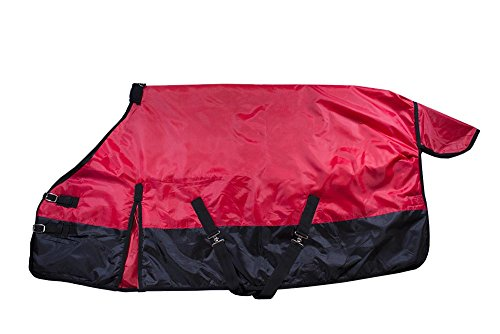 Derby Originals Mini & Pony 600D Turnout Winter Blanket, Red, 56'