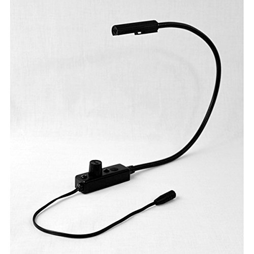 Littlite L-7/12-LED | LED Lampset Permanent End-Mount 12 inch Gooseneck (Gooseneck Mount End)