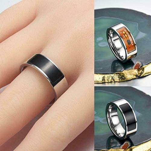 NFC Smart Finger Digital Ring Wear Connect Android Phone Equipment Rings Fashion Transparent,8