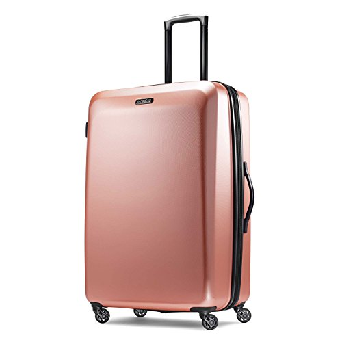 American Tourister Checked-Large, Rose Gold (Best Waterproof Clothing Material)