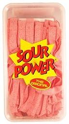 Sour Power Belts Unwrap Strawberry 150ct