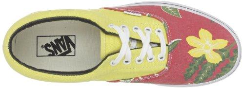 Vans - Zapatos de punta redonda de tela unisex Amarillo (hawaiian red)