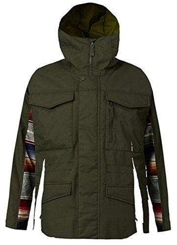 Burton Men's Shell Covert Jacket (Medium, Frstnt/Sinola) (Apparel Burton Insulated Jackets)