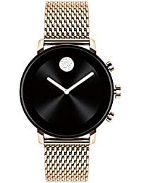 Connect 2.0 Unisex Powered with Wear OS by Google Stainless Steel and Ionic Plated Carnation Gold Steel Smartwatch, Color: Carnation (Model: 3660027)