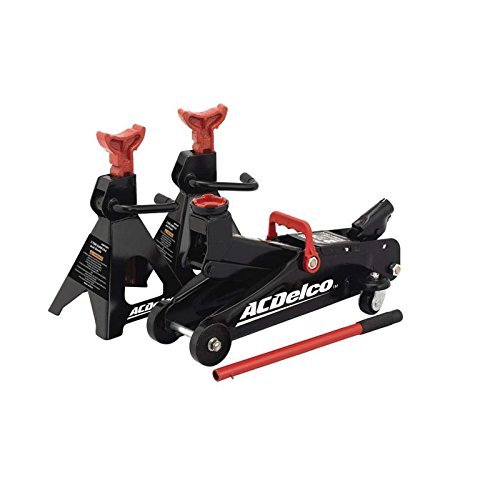 AC Delco 2-Ton Floor Jack and Jack Stands (Ac Delco 2 Ton Trolley Jack compare prices)