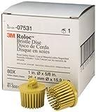 Roloc Bristle Discs - 1'' Yellow 10 Pack