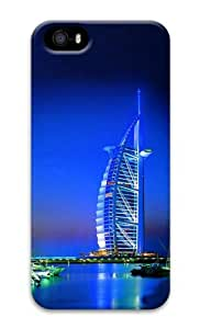 Dubai building 3D Case cute iphone 5S cover for Apple iPhone 5/5S
