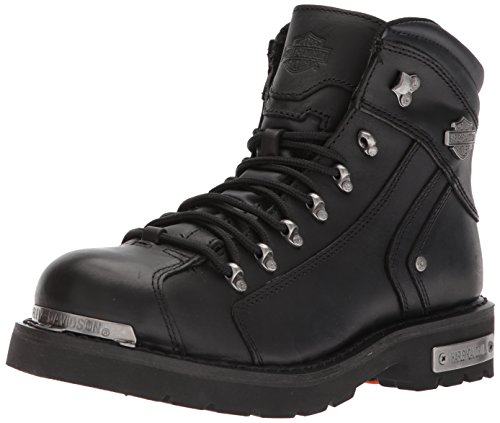 Harley-Davidson Men's Electron Motorcycle Boot, Black, 9.5 Medium US