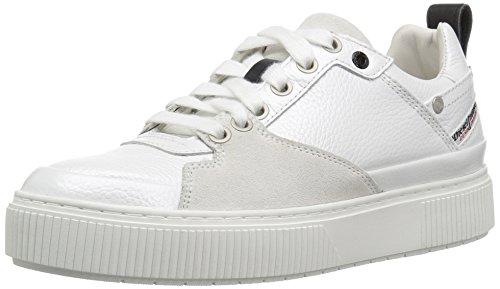 Diesel W danny Lc Donne S Sneaker Di Bianco Metallico Rwqdd1z