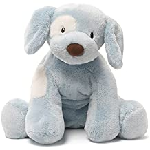 Baby GUND Spunky Dog Stuffed Animal Plush, Blue, 10""