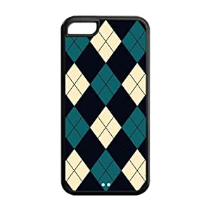 the Case Shop- Colorful Triangle Design TPU Rubber Hard Back Case Cover Skin for iPhone 5C ,i5cxq-117