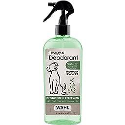 Wahl  Natural Pet Doggie Deodorant Eucalyptus and Spearmint #820011T