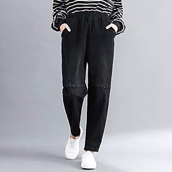 NCAYKL Otoño Invierno Boyfriend Jeans Pantalones Harem ...