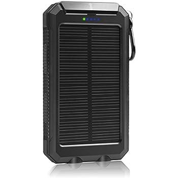 Amazon Com Solar Charger 10000mah Laniakea Waterproof