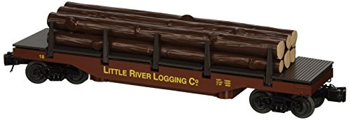 Operating Uncoupling Track - Williams By Bachmann Little River Logging Company O Scale Operating Log Dump Car