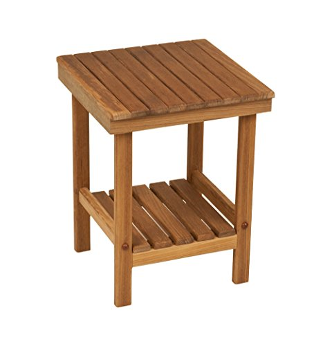(Teak Square Bench or Table | 12