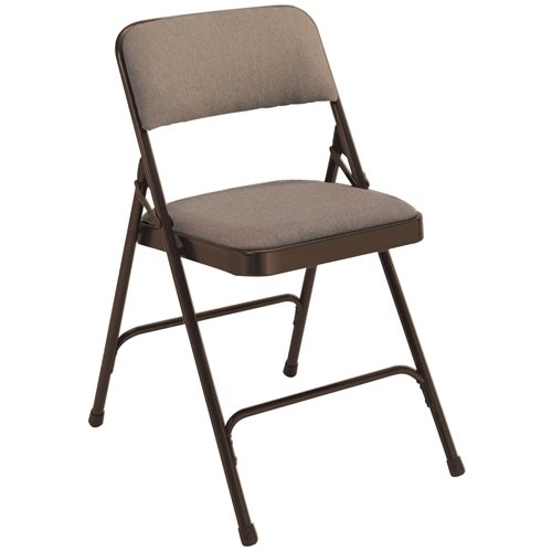 National Public Seating 2207 Premium Fabric Folding Chair, 2200 Series, 1-1/4