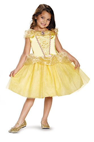 Belle Classic Disney Princess Beauty & The Beast Costume, One Color, X-Small/3T-4T