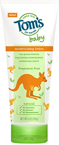 Tom's of Maine 683351 Baby Lotion, Fragrance Free, 6 Ounc...