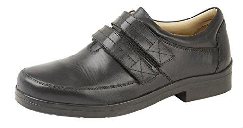 Pour Ville Noir Roamer Lacets Homme Chaussures De À E0XRq