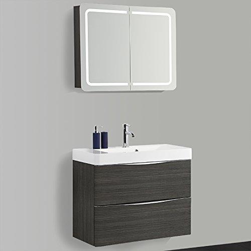 design badezimmer set 80cm hacienda braun waschbacken. Black Bedroom Furniture Sets. Home Design Ideas